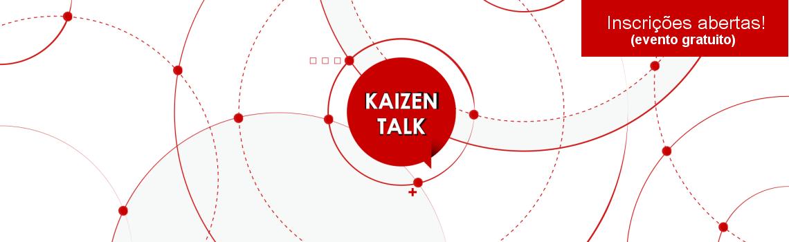 Kaizen Talk - Evento gratuito