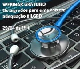 Webinar Gratuito - LGPD