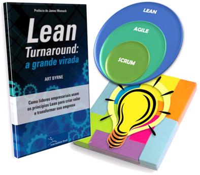 Lean Turnaround - Transformação Lean e sua relação com Agile e Design Thinking